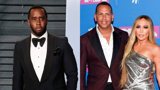 Diddy Gushes Over Ex-GF J Lo's Hot New Fitness Pic & A-Rod Comes For