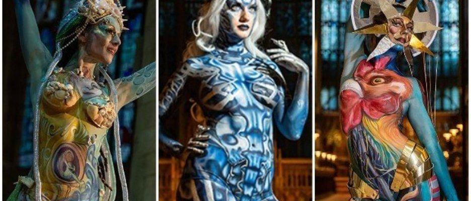 Nude Models Show Off Jaw Dropping Body Paint Designs At Art Contest Fashionbehindthescene