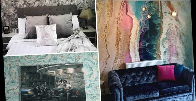 Diy Fanatics Are Raving About Marble Wallpapers Saying They Re The Quickest Way To Transform Bland Rooms On The Cheap Fashionbehindthescene